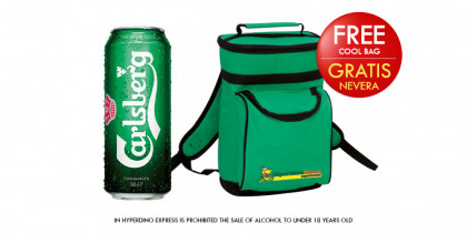 CARLSBERG BEER CAN 50 CL, PACK 12 CANS