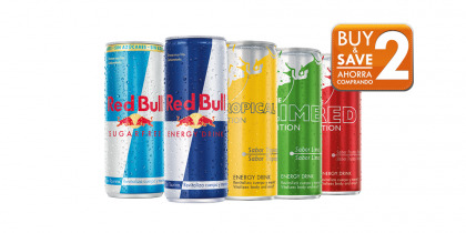 RED BULL ENERGY DRINK CAN 25 CL