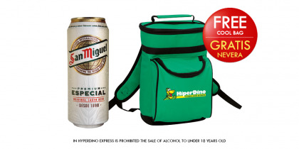 SAN MIGUEL BEER CAN 50 CL, PACK 12 CANS