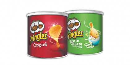 PRINGLES CHIPS DIFFERENT FLAVOURS 40GR